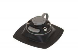 Mount with glue on pad for installation on inflatable boat FASTen (110/110)mm