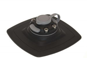 Mount with glue on pad for installation on inflatable boat FASTen (140/140)mm
