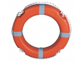 Lifebuoys 2,5 kg 60 cm S/S 74, L.S.A Code, 96/98/EC