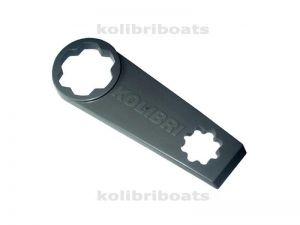 Key for a valve Kolibri