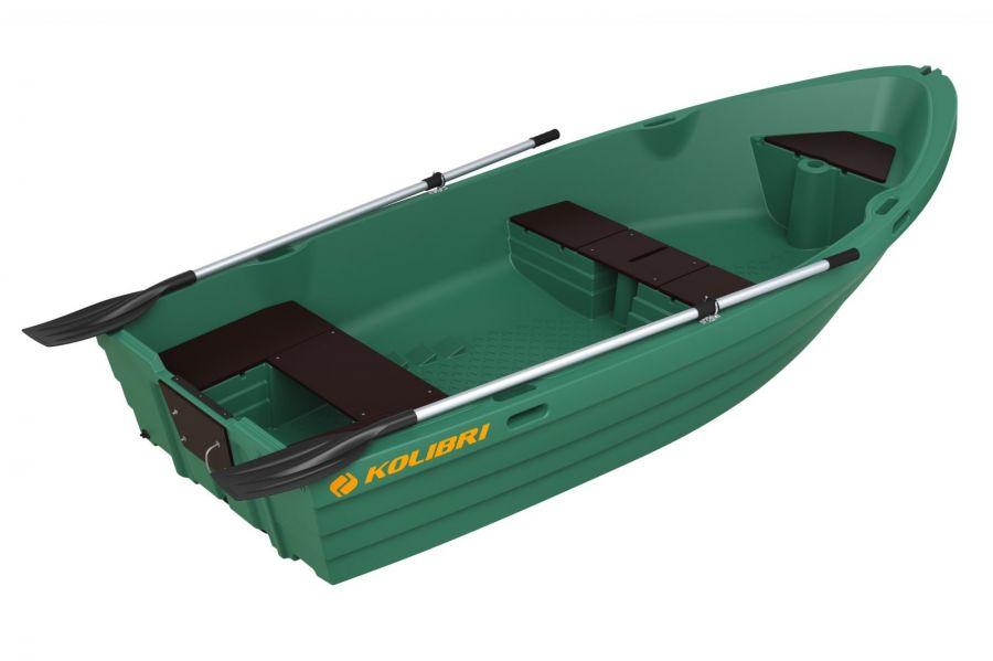 из какого материала сделана лодка колибри